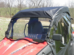 Full Cab Enclosure and Clear Lexan Windshield